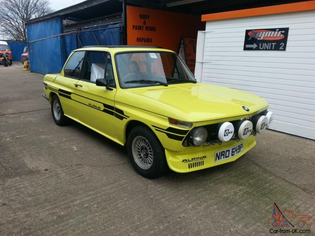 Bmw 2002 Tii Alpina Replica