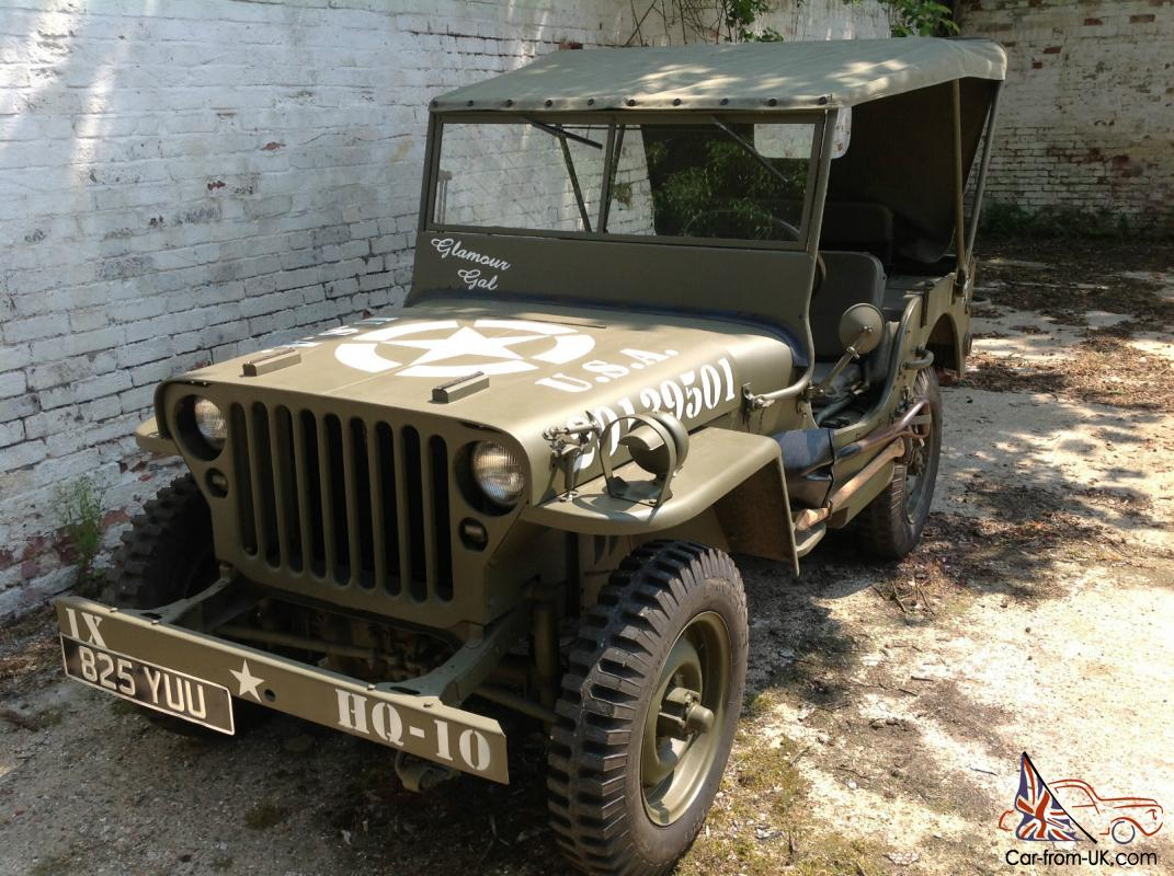 Jeep mb jeep : 1942 FORD GPW JEEP WW2 WILLYS MB