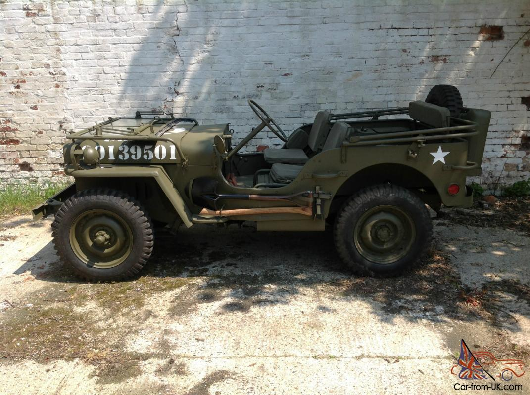 1942 Willys Jeep For Sale >> 1942 WILLYS FORD GPW WW2 JEEP AND TRAILER For Sale Images | FemaleCelebrity