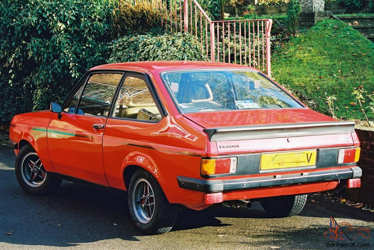 1980 ford escort rs 2000 mk2 original 82 000 one owner for 28 years. Black Bedroom Furniture Sets. Home Design Ideas