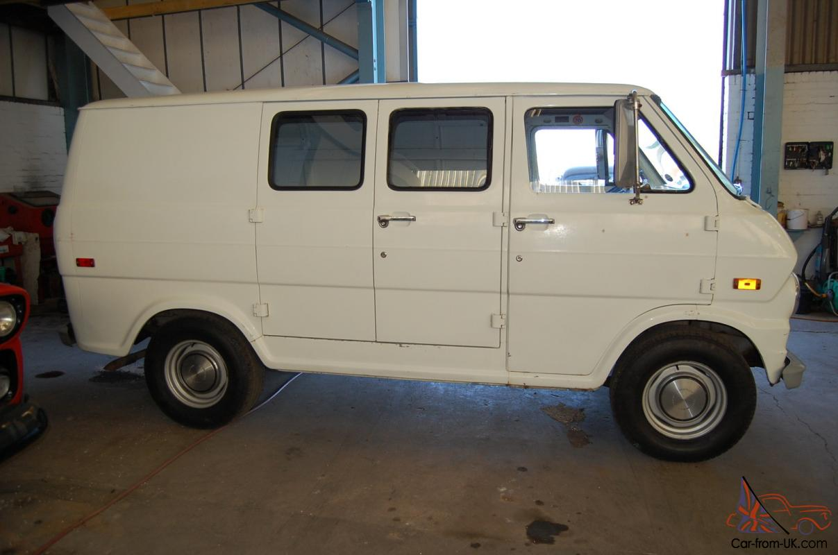 1970 Ford Econoline panel van super rare