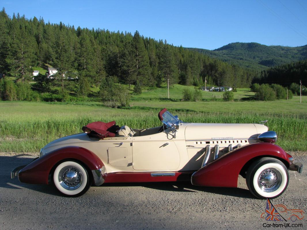 1935 AUBURN SPEEDSTER -----BEAUTIFUL