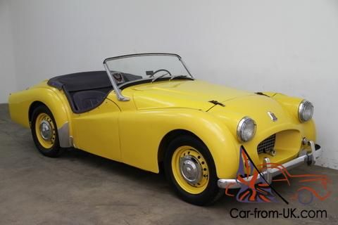 1954 Triumph Tr2 Comes With Matching Numbers And A Heritage