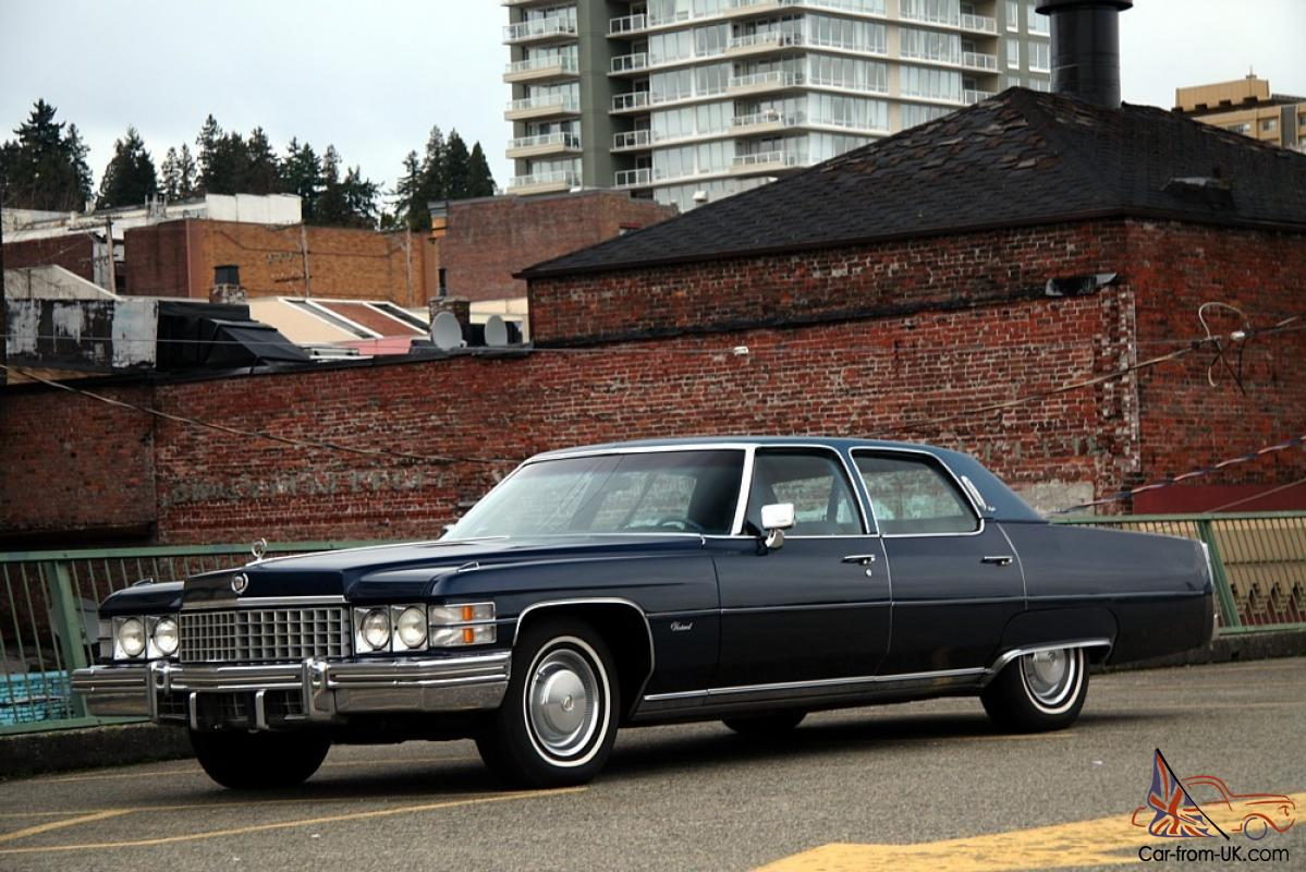 1974 Cadillac Fleetwood Brougham Original Condition