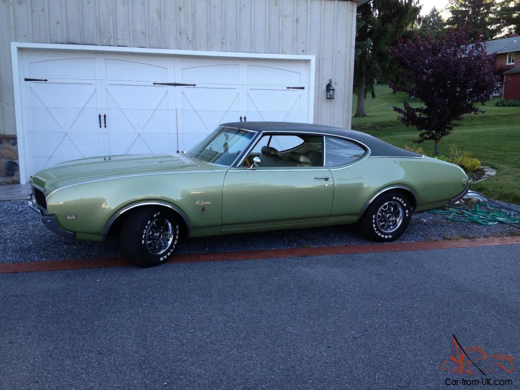 1969 OLDSMOBILE CUTLASS S One Owner 54K Documented Miles