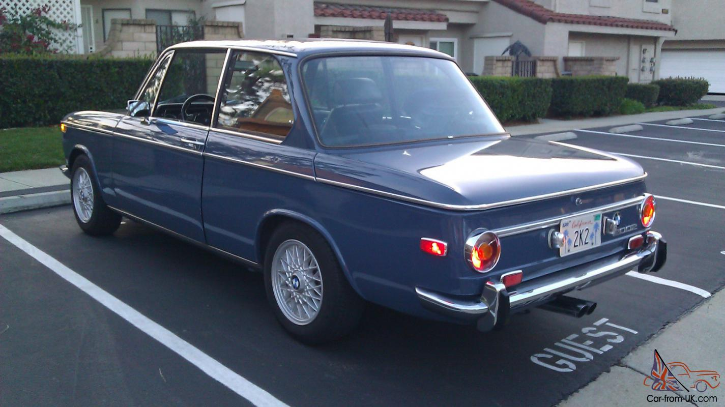 1971 Bmw 2002 5 Speed