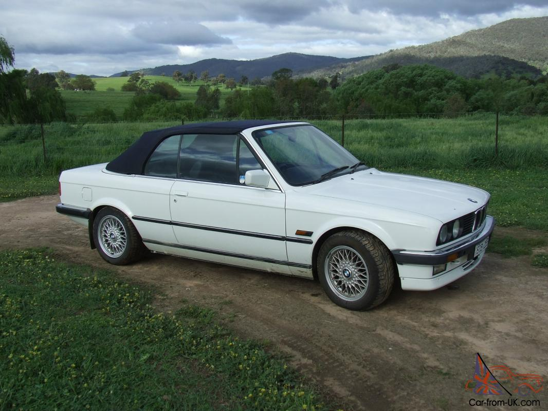 1988 bmw 325i convertible top condition. Black Bedroom Furniture Sets. Home Design Ideas