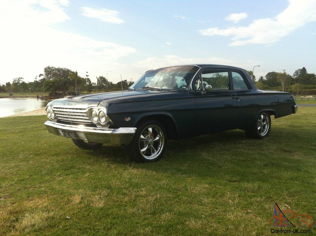1962 chevrolet biscayne auto 350ci 5 7l bagged lowrider. Black Bedroom Furniture Sets. Home Design Ideas