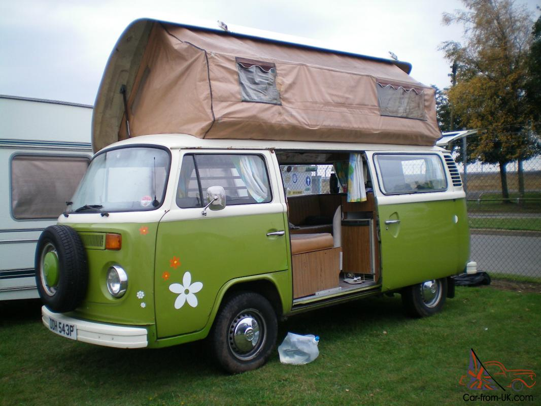 vw t2 viking campervan 1976. Black Bedroom Furniture Sets. Home Design Ideas