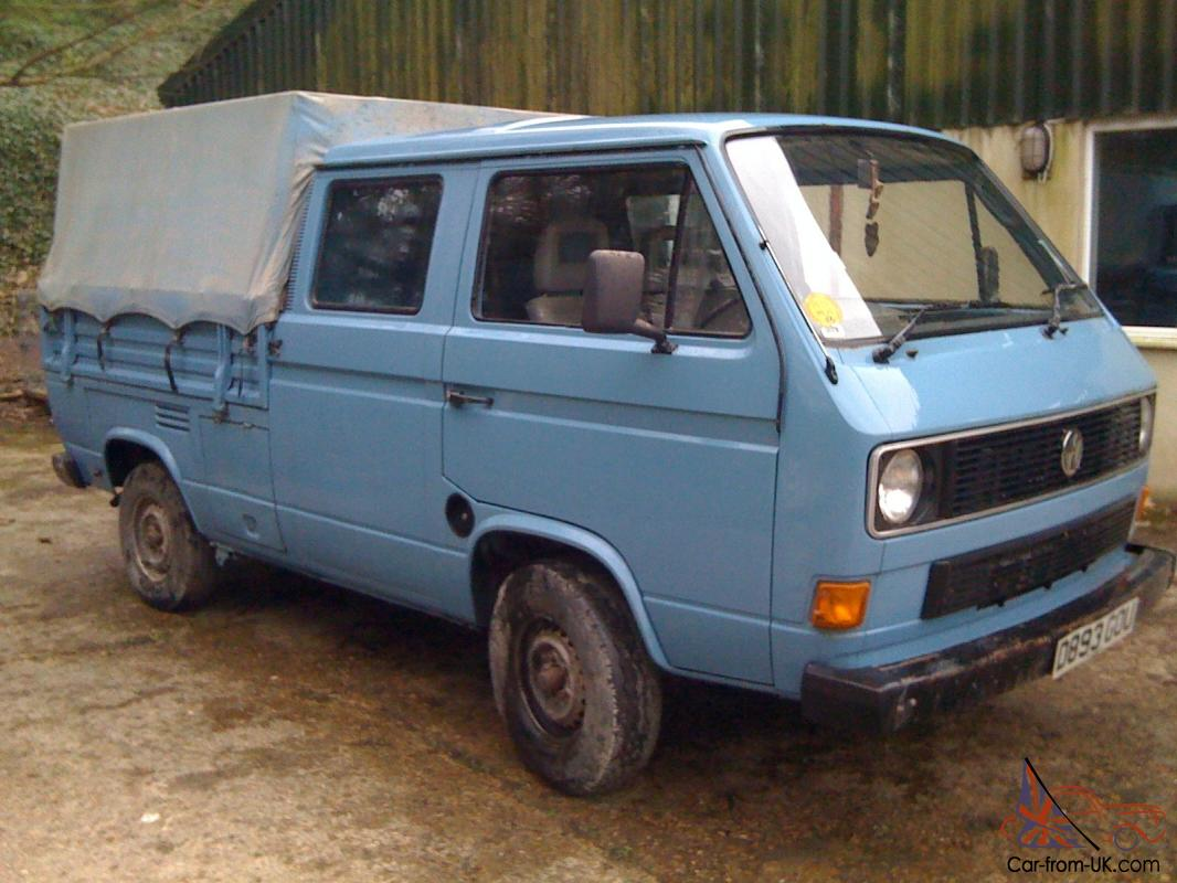 Vw T25 Crewcab Crew Cab Pick Up