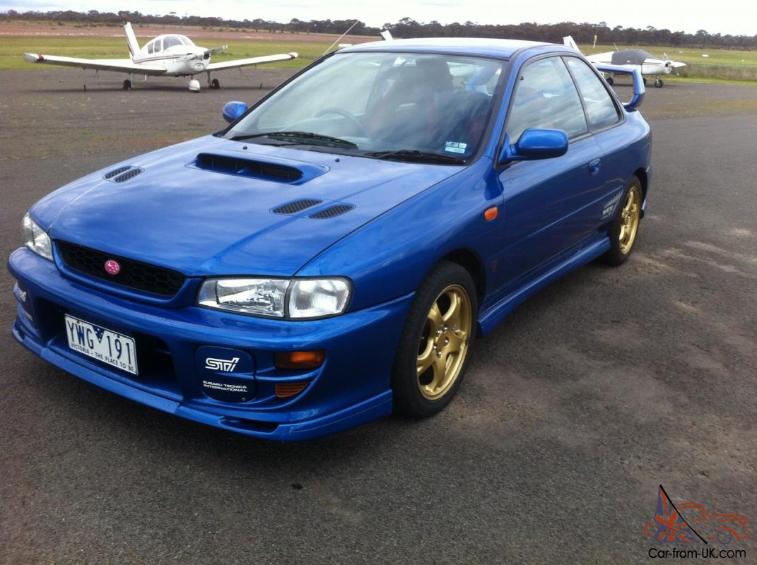 1999 subaru wrx sti coupe stock original reserve is off. Black Bedroom Furniture Sets. Home Design Ideas