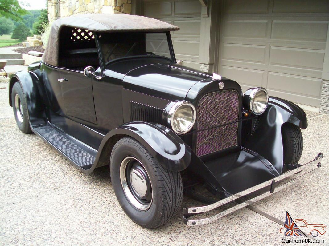 1924 dodge brothers roadster custom hot rod coupe ALL STEEL