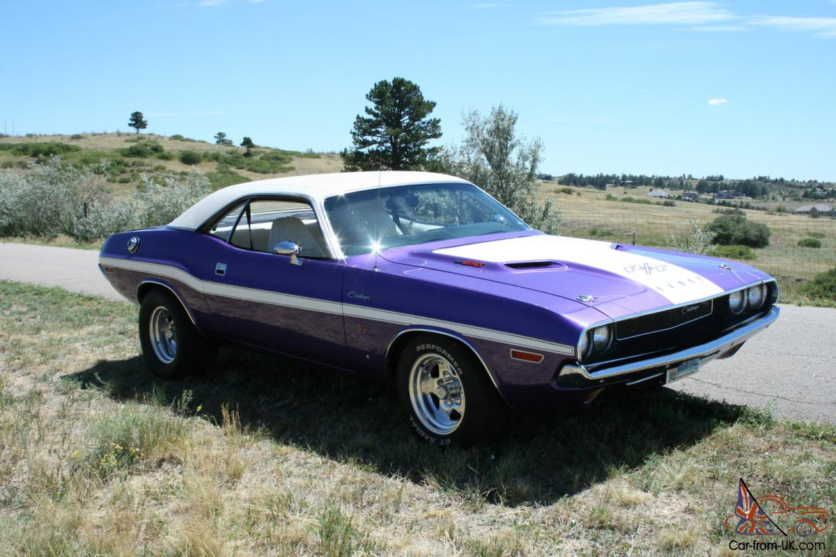 1970 Dodge Challenger R T 440 Six Pack Resto Modified