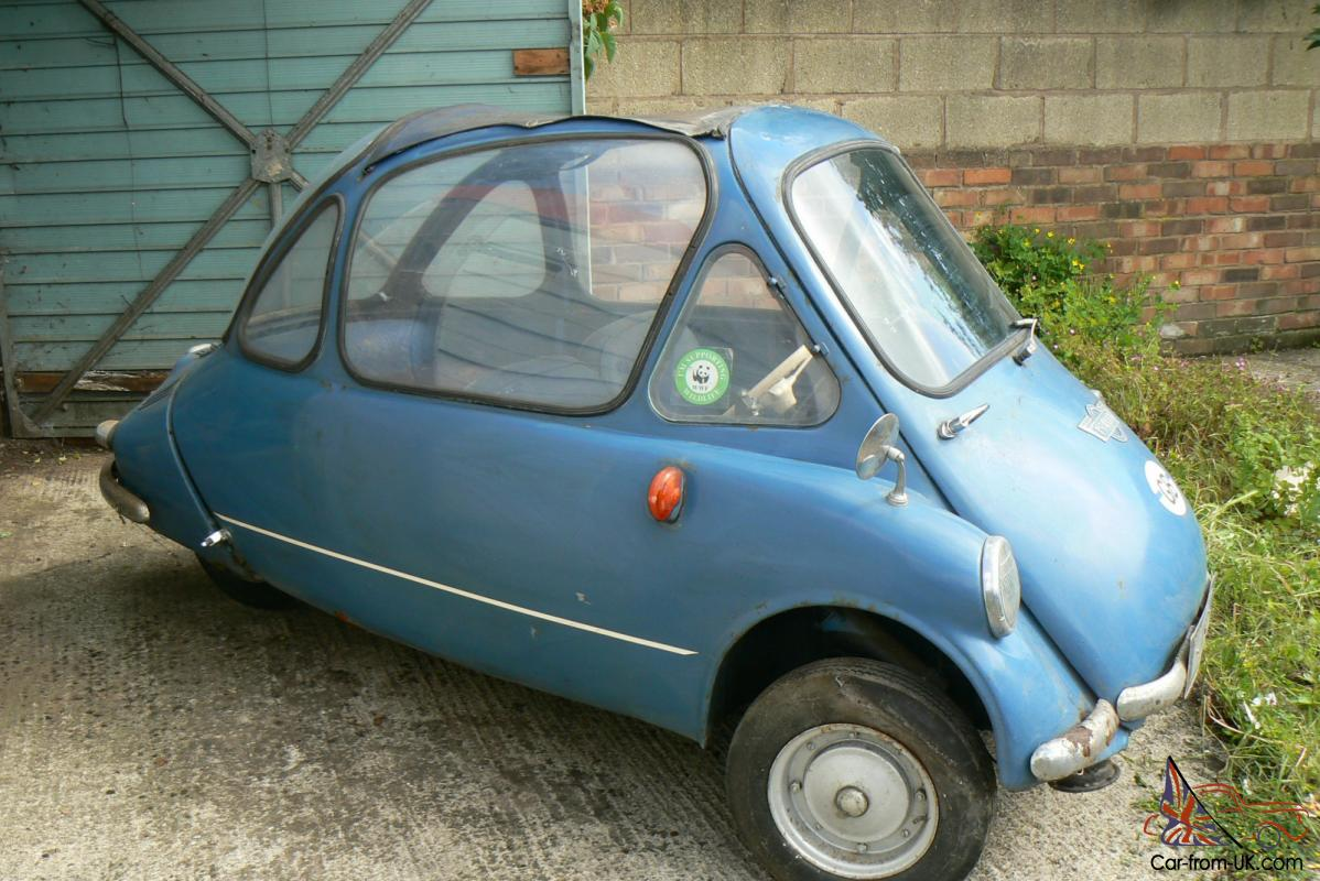 Locked My Keys In My Car >> 1965 Heinkel / Trojan Cabin Cruiser (Bubble Car) Right ...