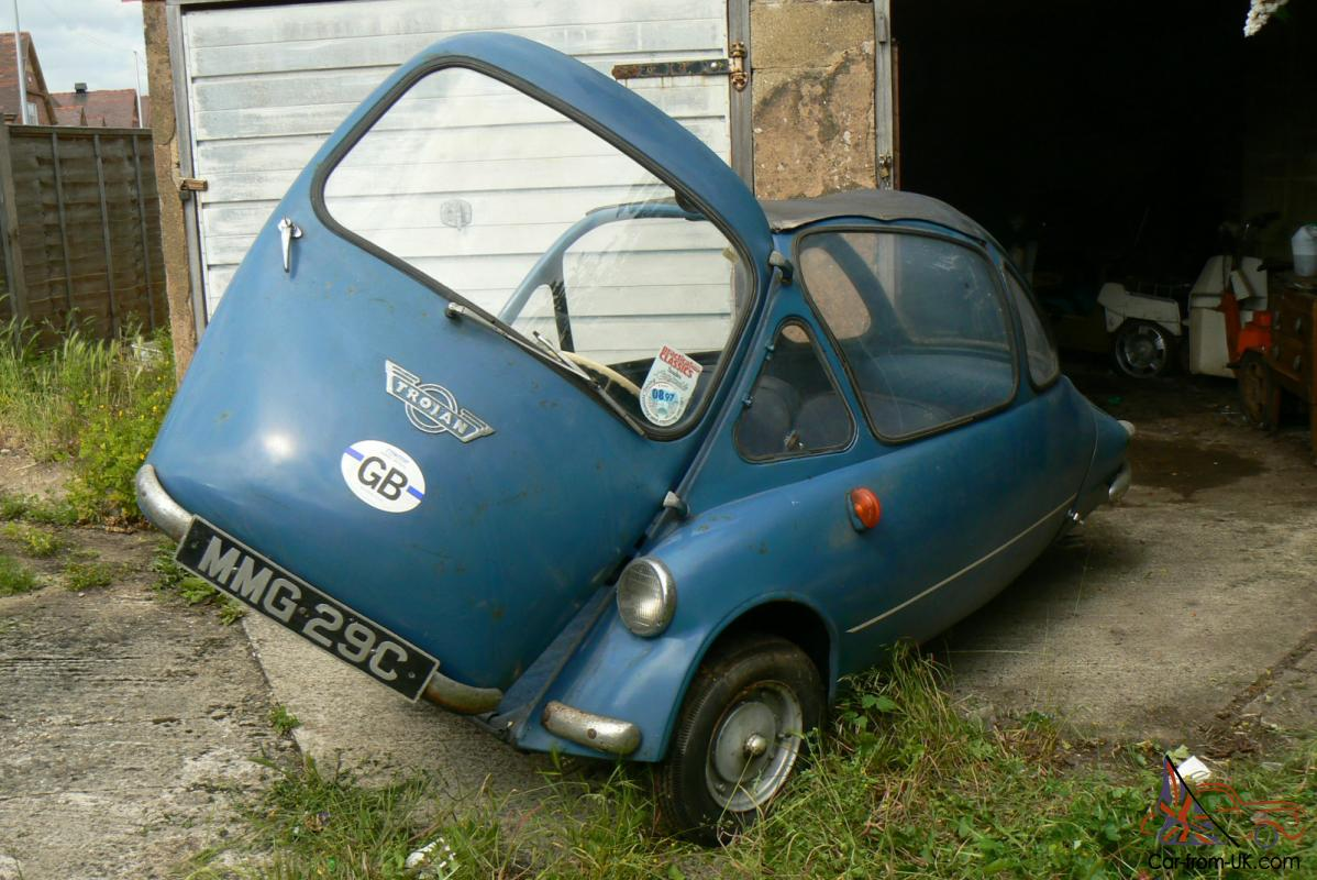Heinkel Trojan Cabin Cruiser Bubble Car Right Hand Drive