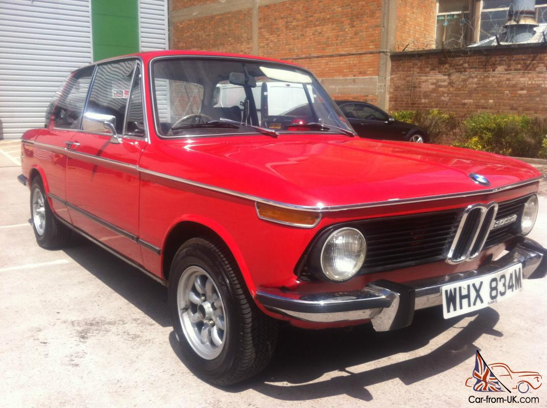 bmw 2002 tii 1974 m reg red 12mnts mot very good condition reluctant sale. Black Bedroom Furniture Sets. Home Design Ideas