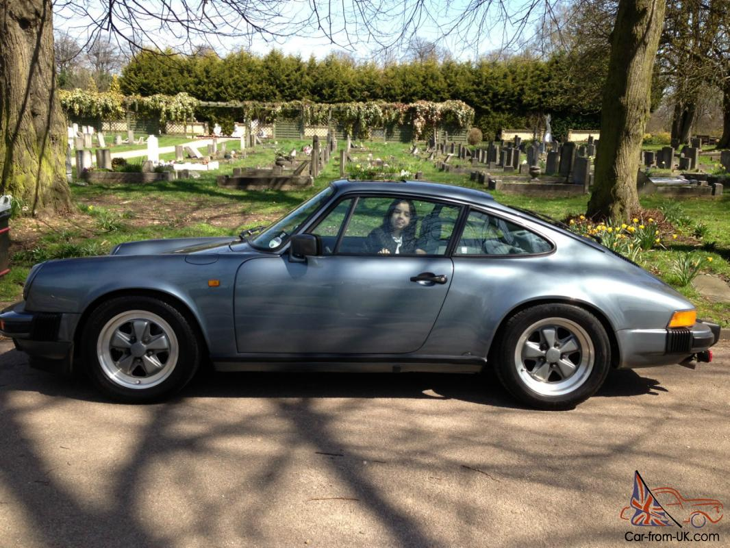 Porsche 911sc Coupe 1983 Model Rare Slate Blue Metallic