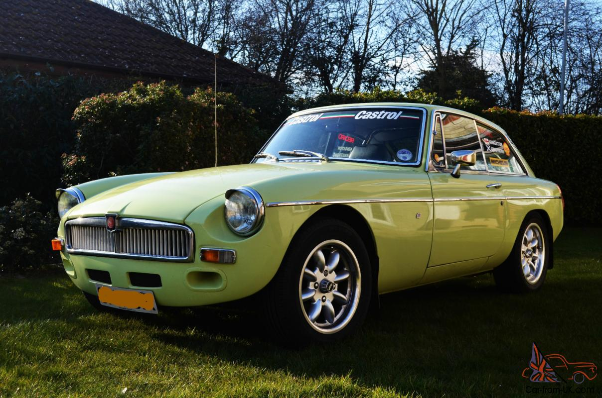 Mgb Gt Sebring Not Raced Ready To Drive Away