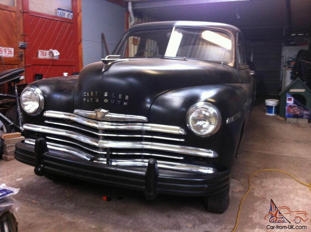 1949 Chrysler Plymouth Rat Rod Hot No Reserve Town Country