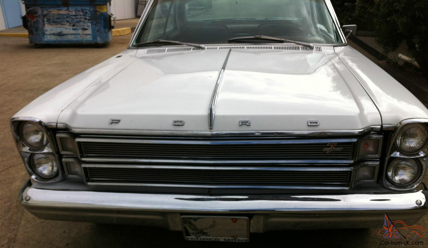 1966 Ford Galaxie 428 7 Litre Coupe Unbelievably Original Better Engine Diagram Than A Mustang