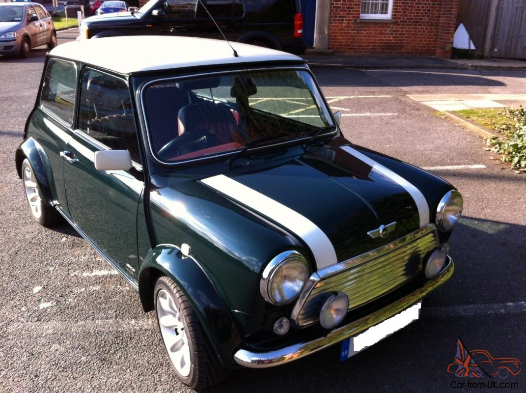 rover mini cooper 40th limited edition only 31 000 miles. Black Bedroom Furniture Sets. Home Design Ideas