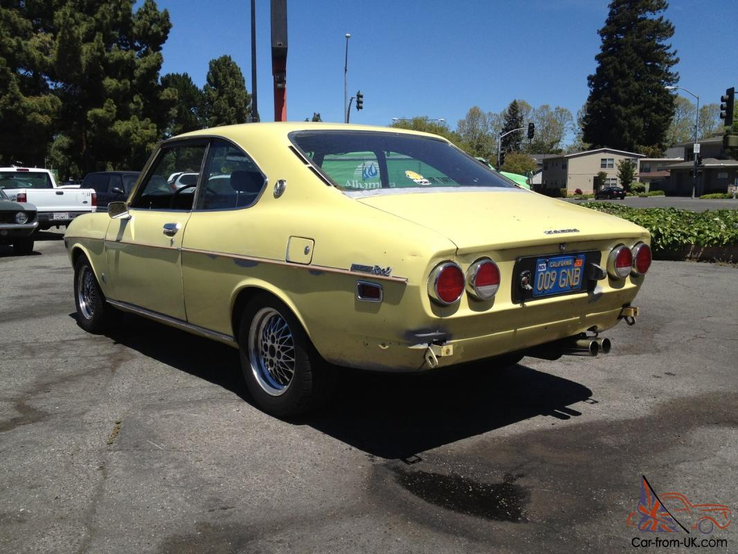 1972 mazda rx2 2 door 12a 5 speed stick capella rx3 rx4 rare car runs excellent. Black Bedroom Furniture Sets. Home Design Ideas