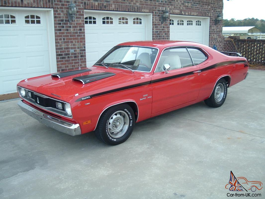 super nice 1970 plymouth duster with 340 a t bucket