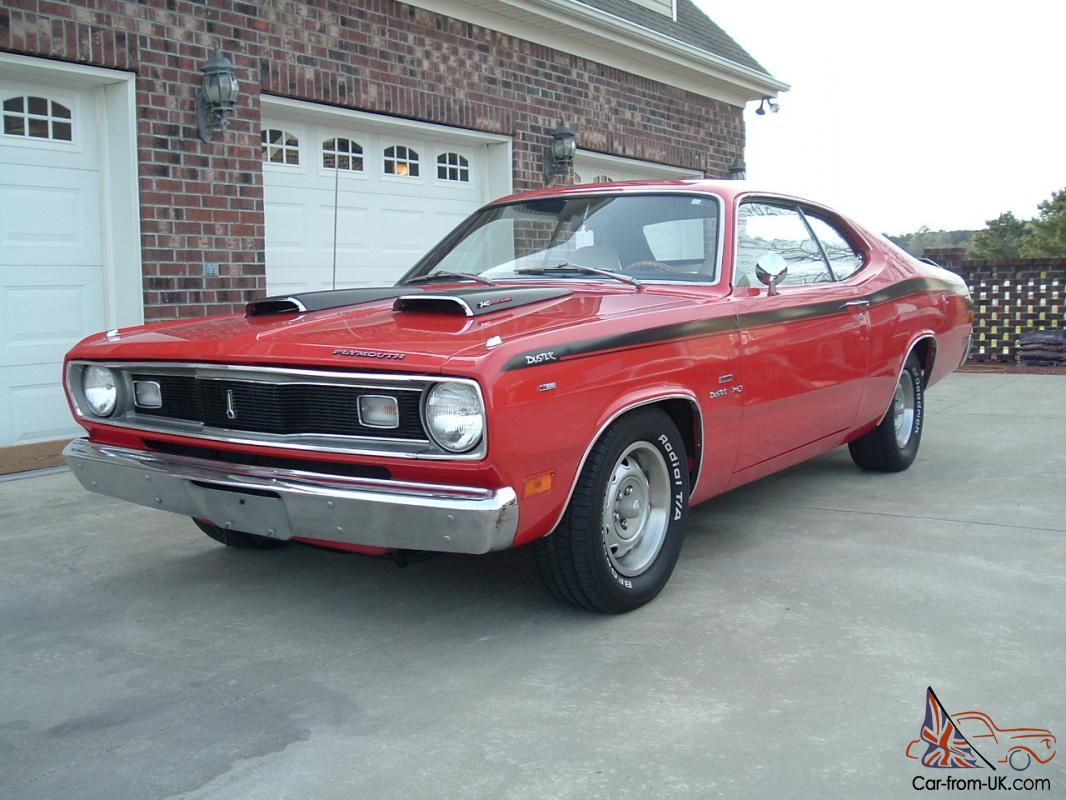 super nice 1970 plymouth duster with 340 a t bucket seat console rh car from uk com plymouth duster super stock plymouth duster super stock