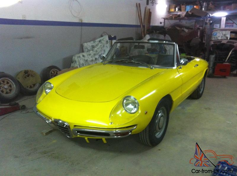 Alfa Romeo Duetto Spider Boat Tail Round Tail Osso Di Seppia For - 1980 alfa romeo spider for sale