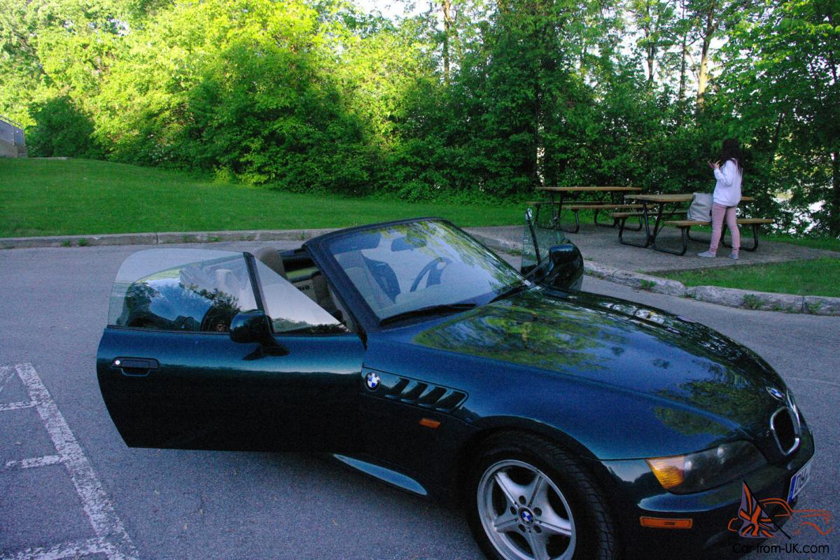 1996 Bmw Z3 Roadster Convertible 2 Door 1 9l