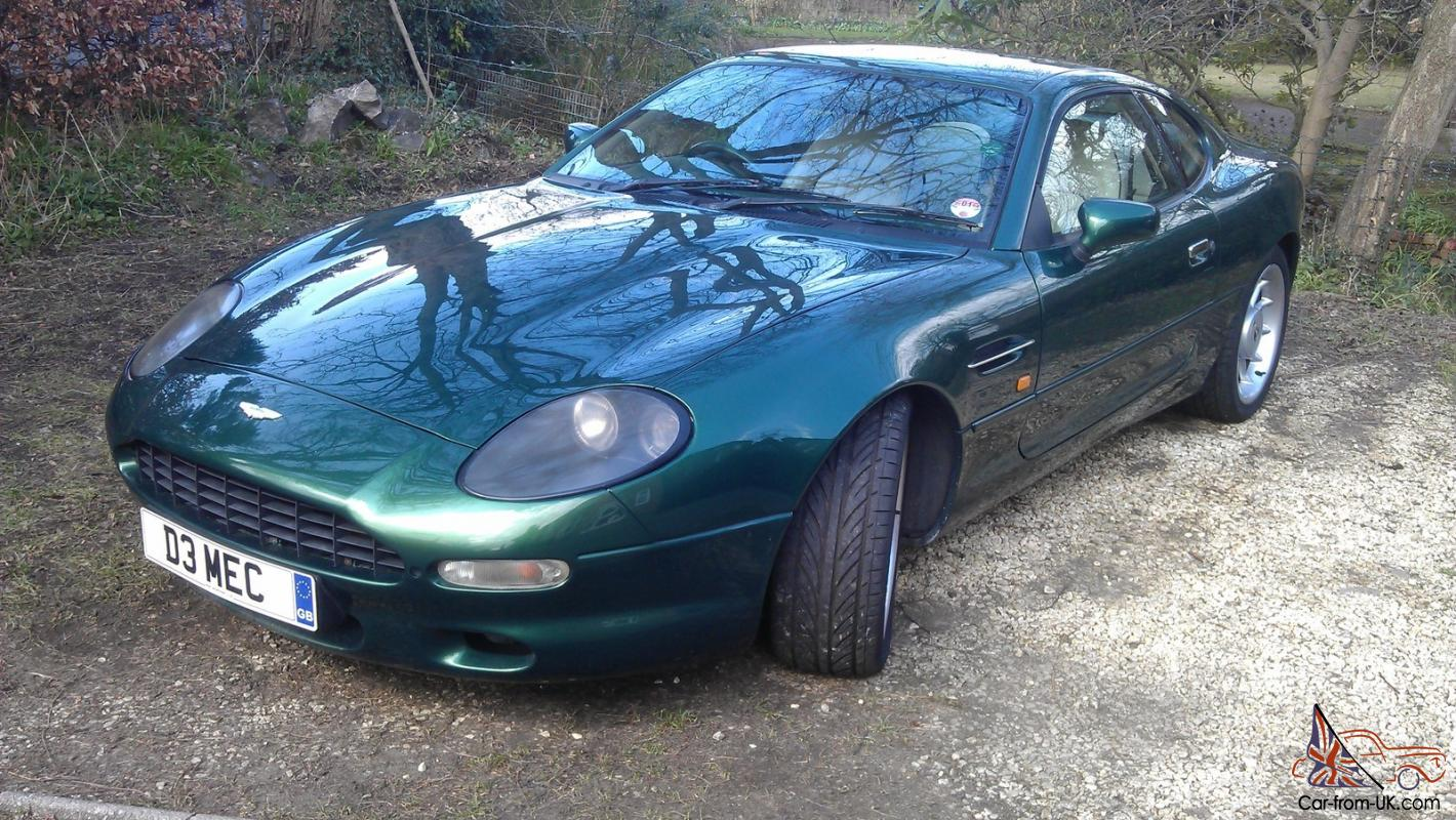 Aston Martin Db7 I6 Supercharged 32 Manual 1997 Chiltern Green Very For A 97 Lincoln Continental Engine Schematics Nice