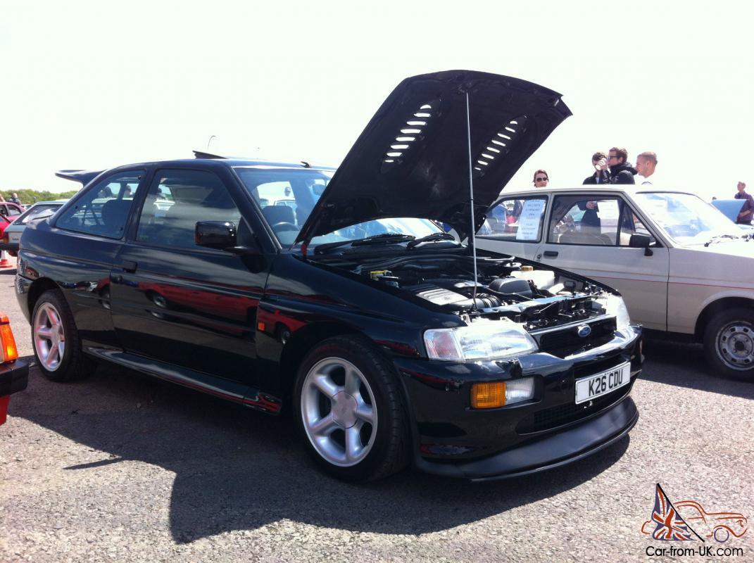 1992 ford escort rs cosworth black. Black Bedroom Furniture Sets. Home Design Ideas