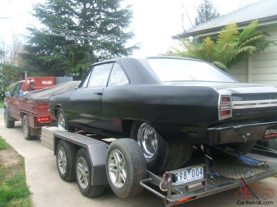 Dodge Dart Drag Car Valiant Chrysler Coupe Race Mopar Vf Vg Plymouth