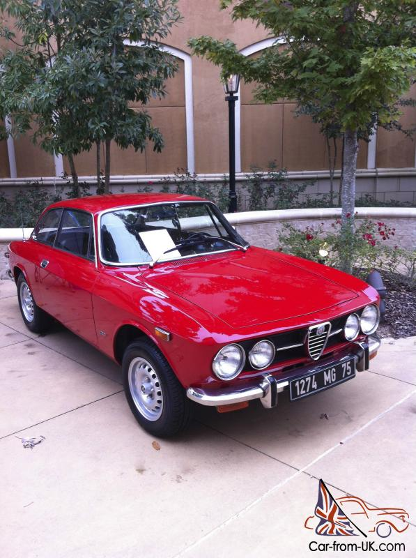 alfa romeo gtv1750 only two owners from new. Black Bedroom Furniture Sets. Home Design Ideas
