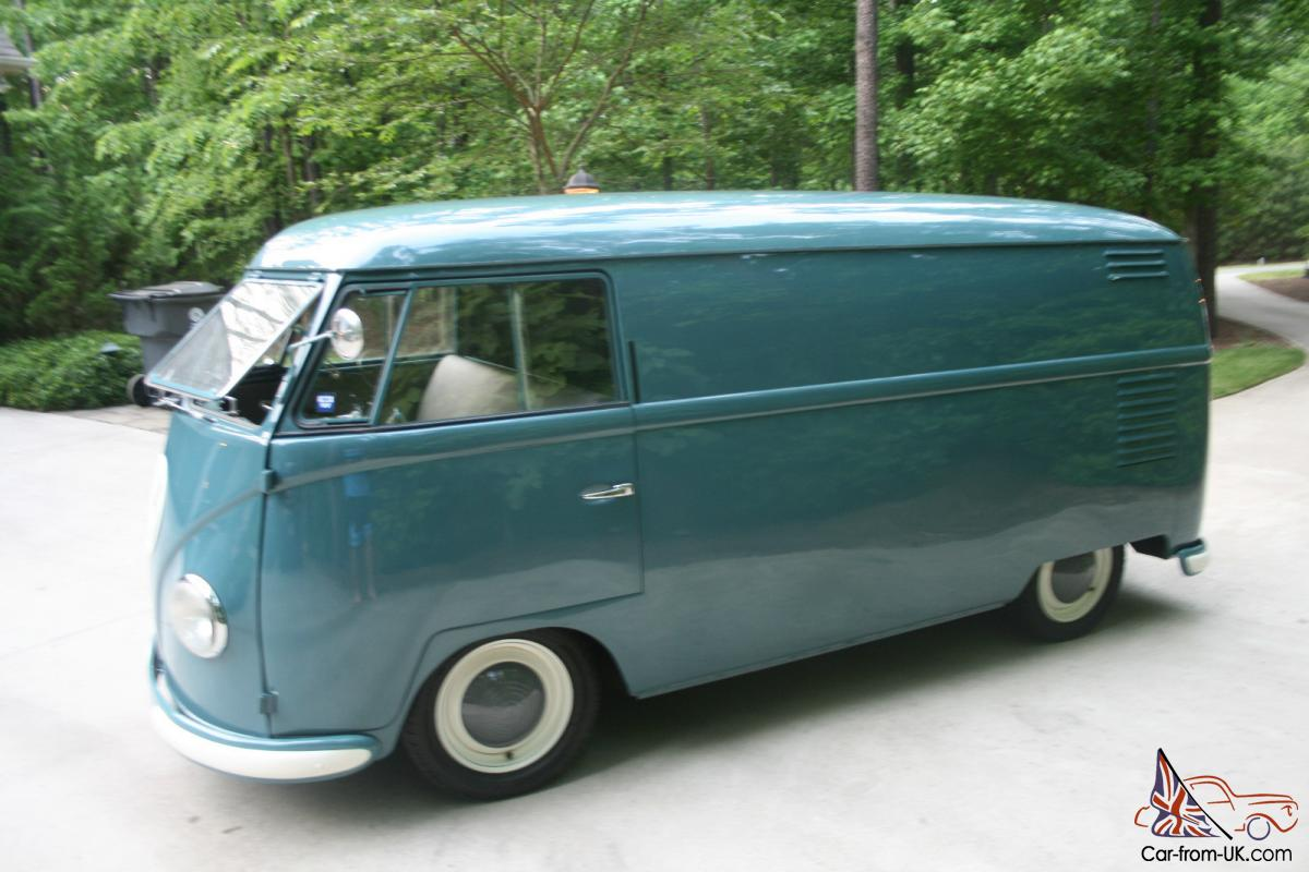 1953 Vw Barndoor Bus Restored 36hp Judson Lowered Great Driver