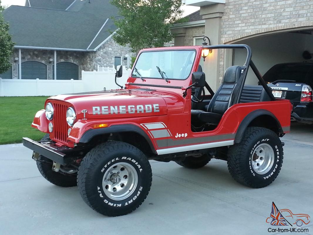 1983 Jeep Cj5 Renegade