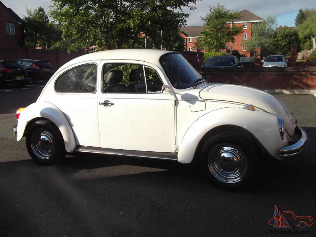 1972 VOLKSWAGEN 1303 BEETLE CREAM
