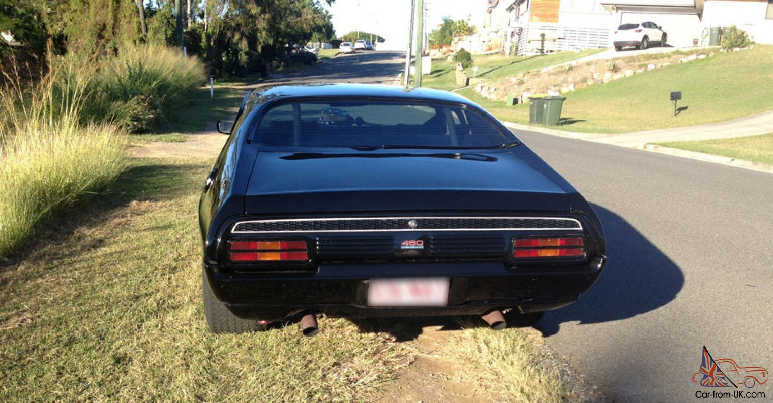 Ford Xb Coupe Hardtop Big Block Tough Car Black Xa Xc Xy