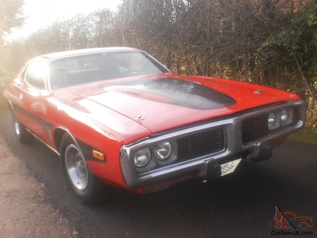 American Dodge Charger 340 Magnum 4 Speed Manual Full No S Matching