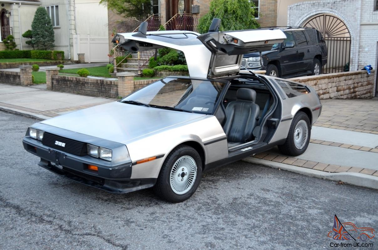 Delorean For Sale Uk >> 1982 DeLorean DMC-12