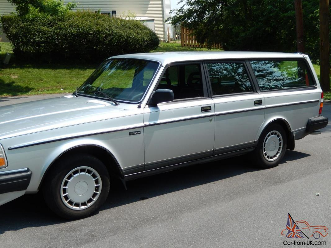 immaculate 1989 volvo 240 wagon 149 000 miles. Black Bedroom Furniture Sets. Home Design Ideas