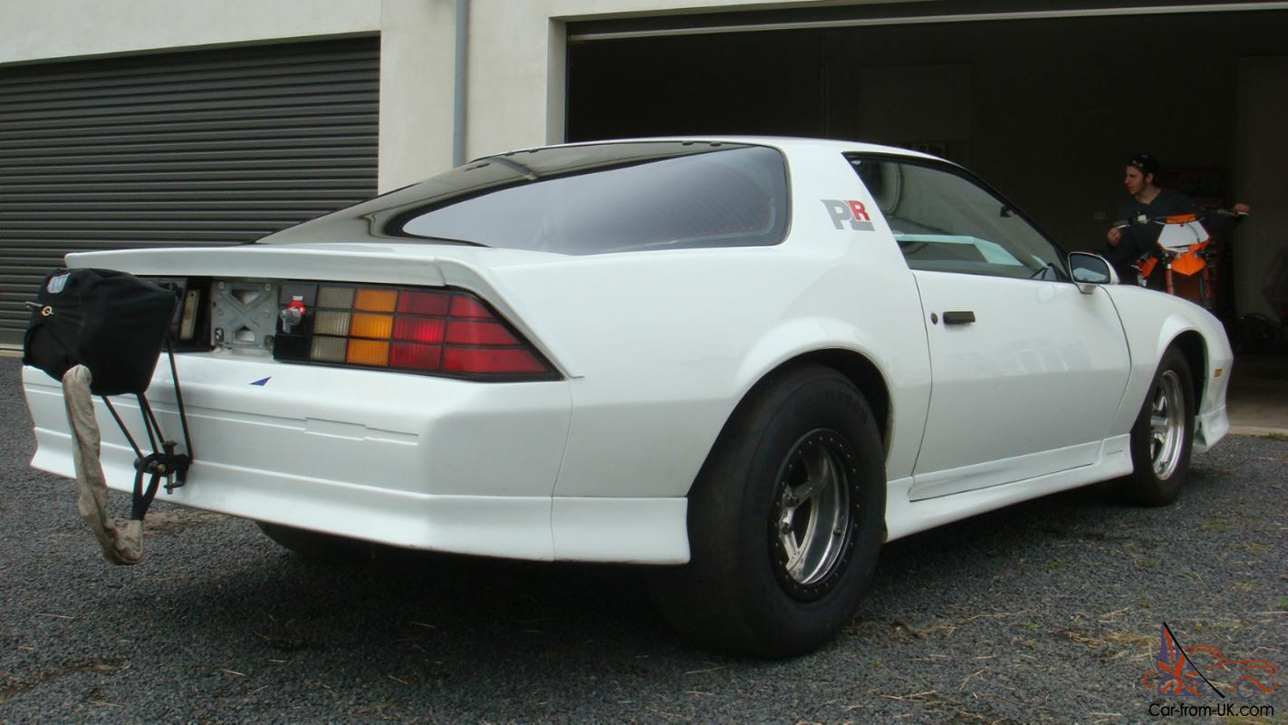 1992 Twin Turbo Camaro Drag CAR