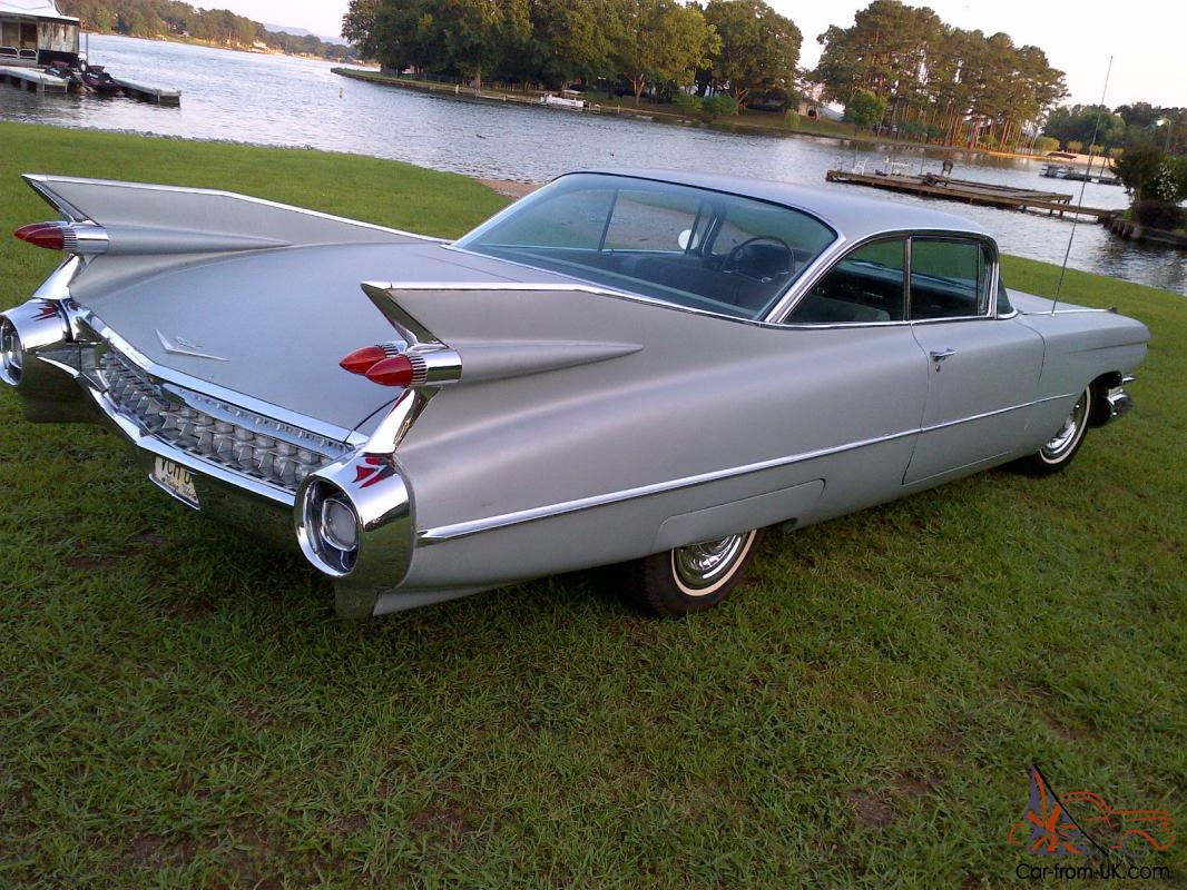1959 Cadillac 2 Door Sport Coupe With A C Arizona Car