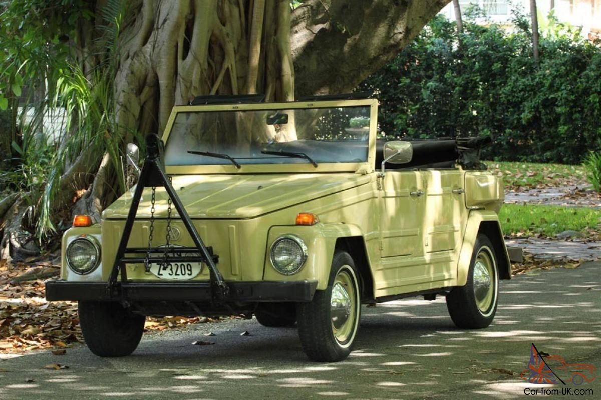 1974 Vw Thing 44 000 Original Miles See History Excellent Running Vw