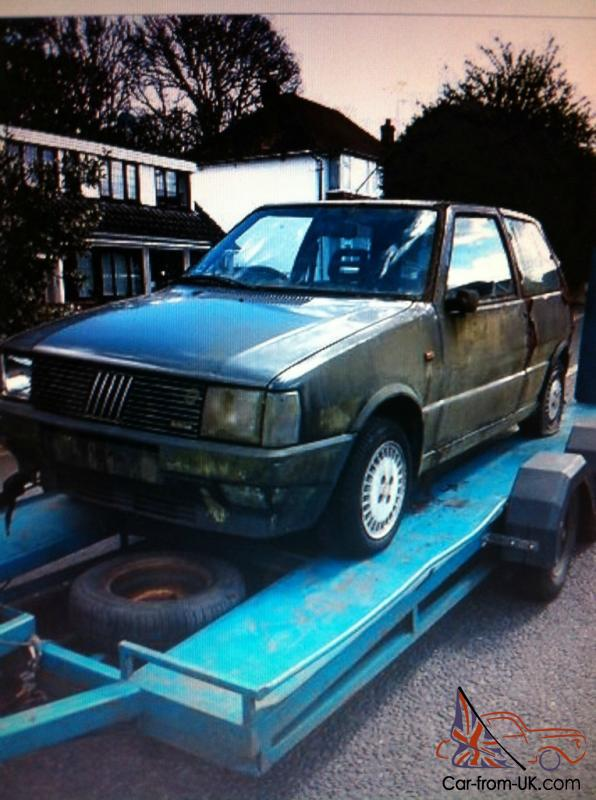1986 fiat uno turbo ie project complete relisted due to. Black Bedroom Furniture Sets. Home Design Ideas