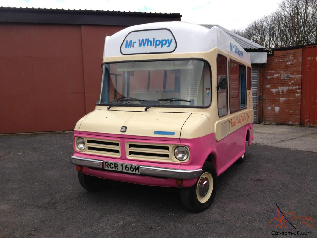 f61feeeb04ff Original Morrison Classic Bedford CF Soft Ice Cream Van Mr Whippy -  Historic Van Photo