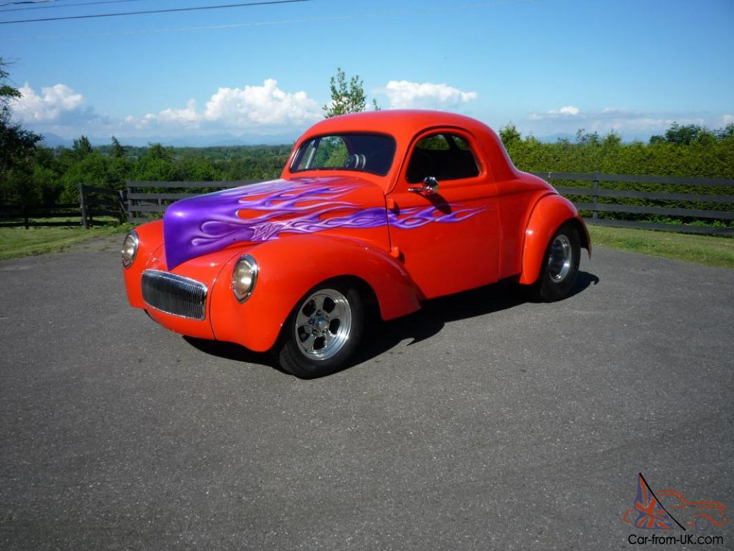 1941 WILLYS STEEL COUPE PRO STREET