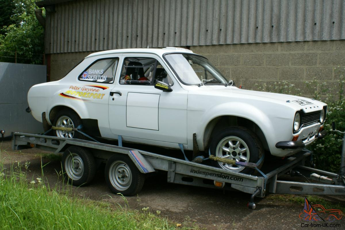 ESCORT MK1 GP4 RALLY CAR
