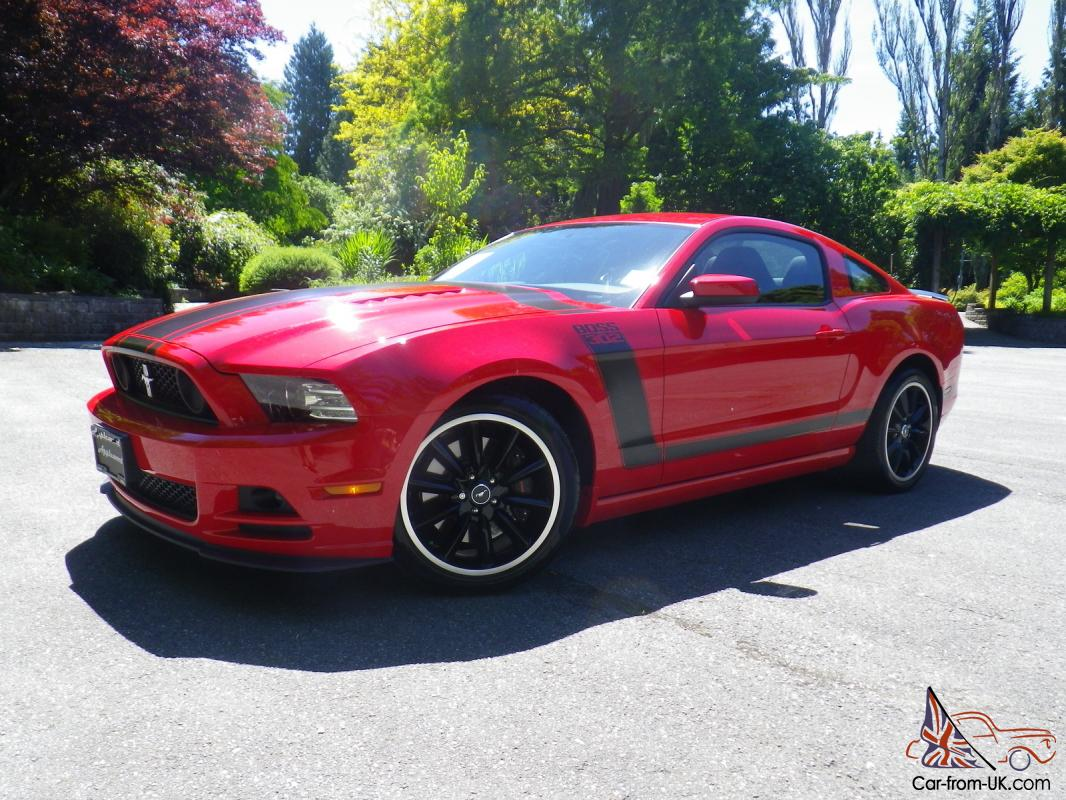 2013 ford mustang boss 302 coupe 6 speed manual only 109 miles. Black Bedroom Furniture Sets. Home Design Ideas