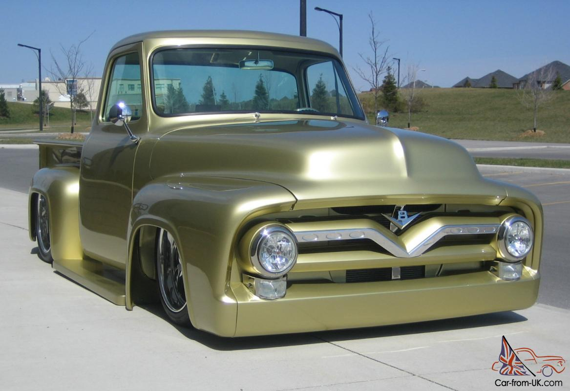 1955 Ford F100 Show Truck seen on the cover May 2013 Custom Classic ...